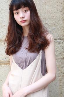 前髪×ローレイヤー|CARE KOBEのヘアスタイル