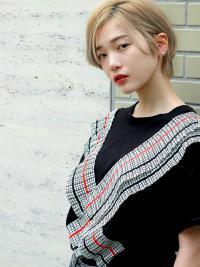 韓国風 コジュニショートスタイル