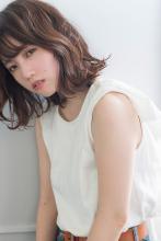 ミディアムボブ|CARE KOBE 藤田 光のヘアスタイル