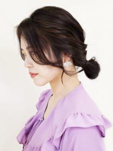 韓国ヨシンモリおだんごアレンジ CARE KOBEのヘアスタイル