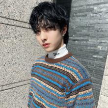 韓国アイドル風 パーマ|CARE KOBEのヘアスタイル