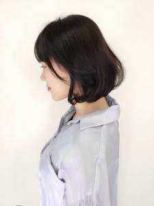 ふんわり黒髪タンバルモリ CARE KOBEのヘアスタイル