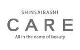 CARE SHINSAIBASHI  | ケア シンサイバシ 大阪・心斎橋の美容室 のロゴ