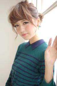【CARE】ねじり編みカジュアルアレンジ