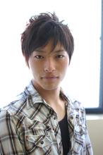 【CARE】スパイキーショート|CARE SHINSAIBASHIのメンズヘアスタイル