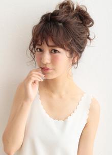 アップを可愛く見せるコツは楕円形シルエットにあり|CARE SHINSAIBASHIのヘアスタイル