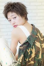 【CARE】カジュアルベビーショート☆セミウェット|CARE SHINSAIBASHIのヘアスタイル