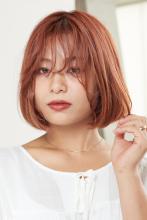 上質さが漂う動きのあるボブ|CARE SHINSAIBASHIのヘアスタイル