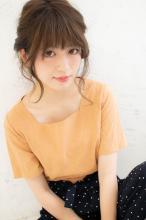 編みこみルーズアレンジ|CARE SHINSAIBASHI 松村 祐介のヘアスタイル