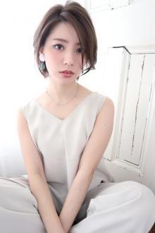 ☆ショートボブ☆大人かわいい☆小顔☆ひし形|CARE SHINSAIBASHIのヘアスタイル