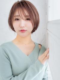 【20.30.40代】オトナ可愛いフォルムの小顔ショート
