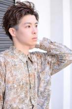 シークレットパーマで動きを!!2WAYマッシュ☆|CARE SHINSAIBASHIのメンズヘアスタイル