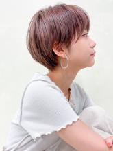 大人かわいいマッシュショート|CARE SHINSAIBASHIのヘアスタイル