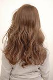 【CARE】大人可愛いかきあげ前髪ロングウェーブヘア