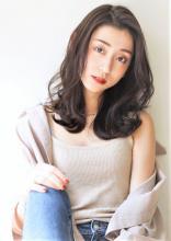 色っぽい大人かきあげスタイル|CARE UMEDAのヘアスタイル