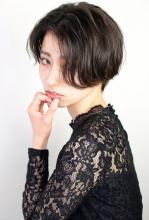 モダンクラシックモードボブ|CARE UMEDA 薦田 将平のヘアスタイル