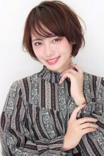 大人可愛いひし形ショート|CARE UMEDA 薦田 将平のヘアスタイル