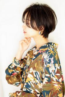 女子力おしゃれショート|CARE UMEDAのヘアスタイル