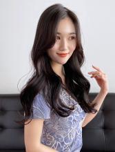 韓国大人 ヨシンモリ 顔まわりカット|CARE UMEDAのヘアスタイル