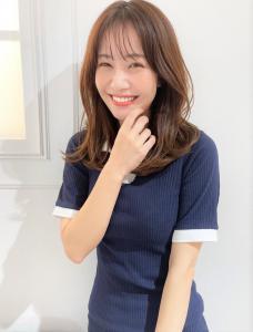 韓国ヘア くびれヘア CARE UMEDAのヘアスタイル