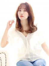 韓国ヘア くびれヘア|CARE UMEDAのヘアスタイル