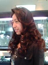 ノンパーマでもふんわり巻き髪に♪|美容室 C'EST lA'ViEのヘアスタイル