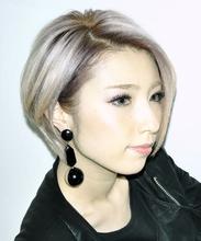 外国人風 前下がりショートボブ|CHANDEUR 栄久屋大通店のヘアスタイル