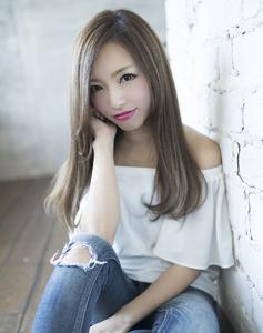 大人かわいいマッシュロング|CHANDEUR 栄 【個室型サロン】のヘアスタイル