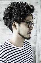 メンズパーマ|CHANDEUR 栄 【個室型サロン】 加藤 貴也のメンズヘアスタイル