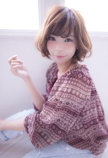 エアリー感の艶髪ボブ|CHANDEUR 栄 【個室型サロン】のヘアスタイル