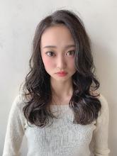 #アッシュグレー #暗めでも透けるカラー|CHANDEUR 栄 姫野 孝幸のヘアスタイル