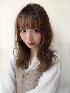 ショコラアッシュ|CHANDEUR 栄 【個室型サロン】のヘアスタイル