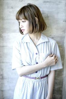 外国人風アッシュグレージュ|CHANDEUR 栄 【個室型サロン】のヘアスタイル