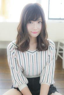 ゆるふわ巻き|CHANDEUR 栄 【個室型サロン】のヘアスタイル