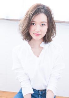 エアリー感の艶髪ワンカールボブ|CHANDEUR 栄 【個室型サロン】のヘアスタイル