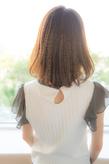 前髪短めミディアムボブ