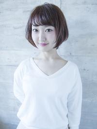 エアリー感の艶髪ワンカールボブ