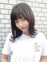 暗髪でも可愛い♪外ハネボブ|CHANDEUR 栄 【個室型サロン】 姫野 孝幸のヘアスタイル