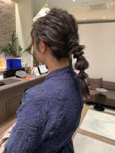 個性派ヘアセット|CHANDEUR 栄 【個室型サロン】のヘアスタイル