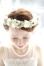 外国人花嫁風アレンジ*|quadrille citronnierのヘアスタイル