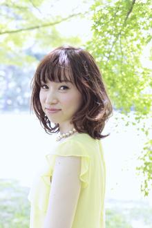 抜け感ミディ☆|quadrille citronnierのヘアスタイル