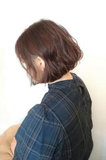 フェミニンボブ|quadrille citronnierのヘアスタイル