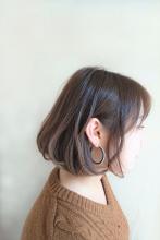 前下がりボブ|quadrille citronnierのヘアスタイル