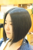 えりあしすっきりで夏も涼しい涼スタイル! Clear Timesのヘアスタイル