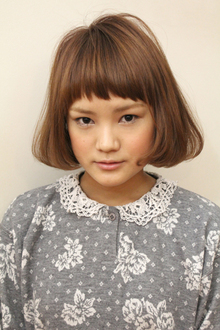 コケティッシュボブ|coo et fuuのヘアスタイル