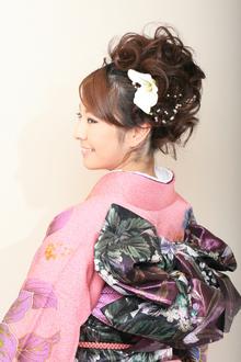 成人式や結婚式を華やかに!!大人かわいい和装アップ☆|COTY 宝塚のヘアスタイル