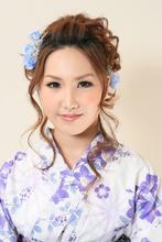 ゆかた美人☆|COTY 宝塚のヘアスタイル