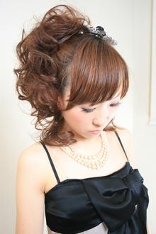 ふわふわパーティーヘア☆|COTY 宝塚のヘアスタイル