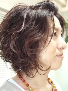 エアウェーブスタイル|CUT LINEのヘアスタイル