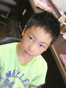 カッコ!かわいい男の子の短髪スタイル! Cut wa Coconi (交野市美容室・美容院)のヘアスタイル